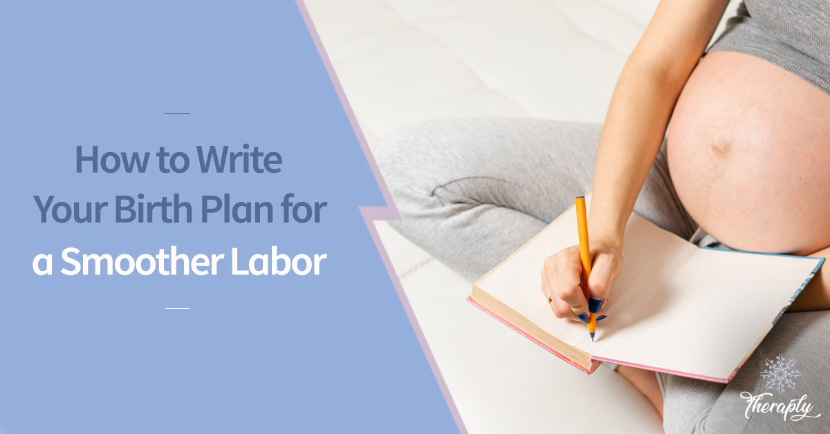 How to write a birth plan